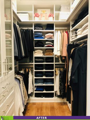 Master Closet Masterpiece! After