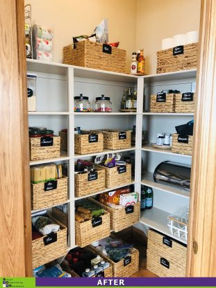 Fresh and Fabulous Pantry Makeover After