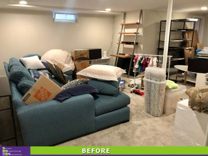 Basement Transformation Before